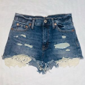 Aeropostal High Waisted Shorts